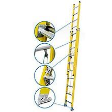 Escaleras Telescópicas de Fibra de Vidrio