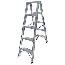 Escaleras Tijeras de Aluminio Doble